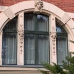 szczegóły okna zespolonego do zabytków
