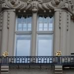 zdobienie okna skrzynkowego