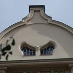 okna krosnowe w nietypowym kształcie