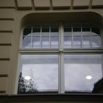 zdobienie ślemienia okna skrzynkowego