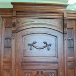 ręczne zdobienie drzwi wewnętrznych