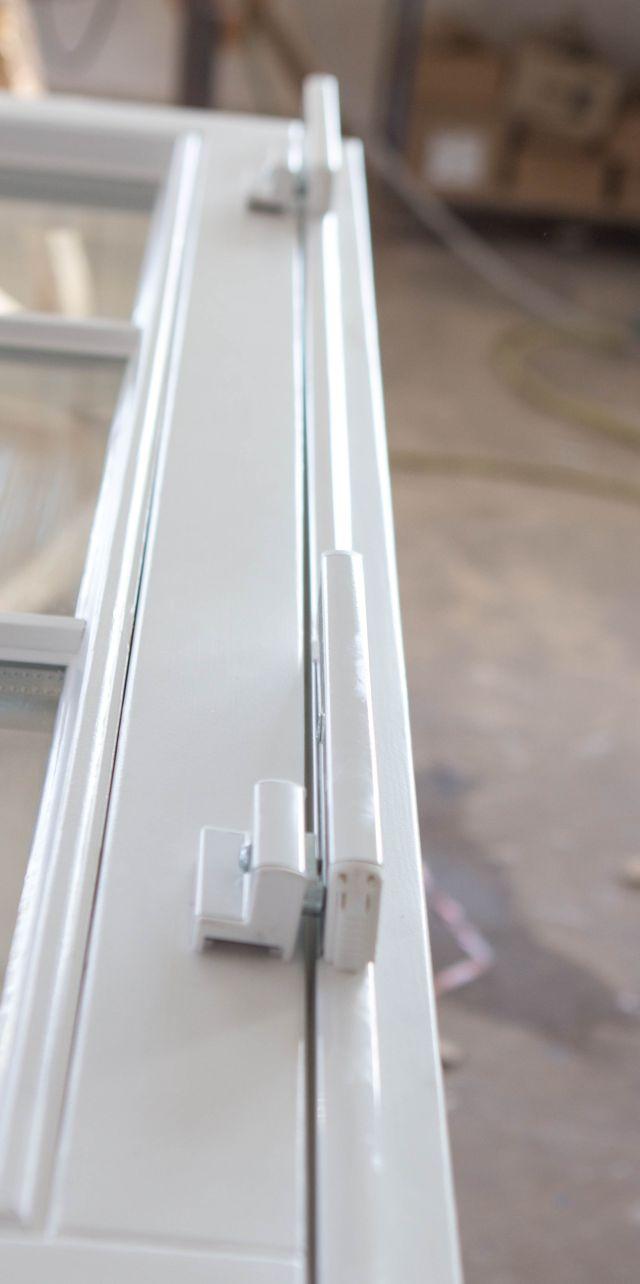Uchylanie skrzyd a w wysokim oknie producent stolan okna ze szczecina - Fenster nur halb kippen ...