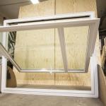 okna obrotowe drewniane